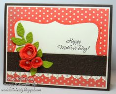 Stampin Up! Mothers Day Card - Christy Fulk, SU! Demo