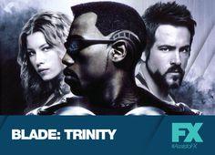 O meio-vampiro Blade enfrenta o vampiro original, o poderoso Drácula. Blade: Trinity - Sábado, 9 de novembro, 22h30 #AssistoFX Confira conteúdo exclusivo no www.foxplay.com