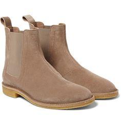 Bottega Veneta - Suede Chelsea Boots
