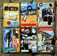GDT Challenge, November 2014 Project Life, November, Challenges, Baseball Cards, Projects, November Born, Log Projects, Blue Prints