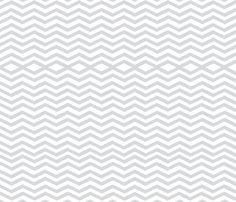 gray_wide_chevron fabric by lexie_garrett on Spoonflower - custom fabric