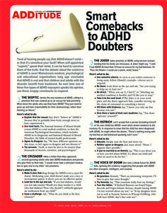Are you or your child newly diagnosed with ADD or ADHD? Often wonder all the ways it can or does affect you? Check out this easy to read resource to learn more about ADD and ADHD.