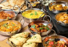 haute+cuisine+buffet+food+presentation   Indian Food