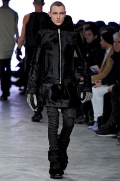 Rick Owens Fall 2013 Menswear Collection Slideshow on Style.com