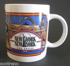 New York New York Hotel & Casino Coffee Mug Las Vegas Nevada