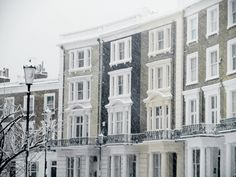 Notting hill in the snow-Beautiful!