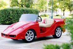 Pennwick Adds A Sexy Italian Sport Car To Their Luxury & Custom Golf Carts.