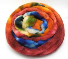 For The Love Of Pants Roving - Spinning Fiber - Dyed to Order