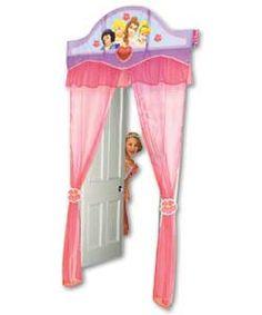 Disney Princess door curtain. Disney Princess Pinterest Party #DisneyPrincessWMT