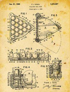 Plumber Vintage Bathroom Decor 501 Official Toilet Plunger US Patent Art Print