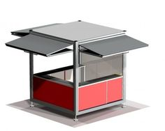 ... Retail use kiosk / prefab / for public areas CUVE ® ESTEVA ...