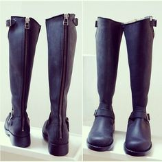 Johnny bulls boots with zipper