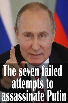 The seven failed attempts to assassinate Putin - Trivota