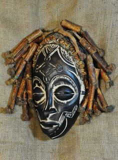 African Traditional art from the Rasta Tribe - African Mask ...genuineafrica.com