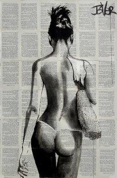 """Saatchi Art Artist Loui Jover; Drawing, """"summertime"""" #art"""