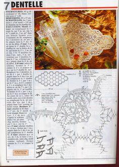 Patterns and motifs: Crocheted motif no. 166