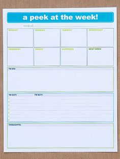 BHG Get Organized with Free Charts