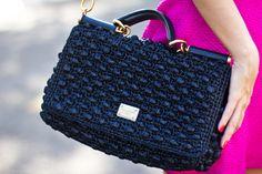 Look – Bolsa de Crochet