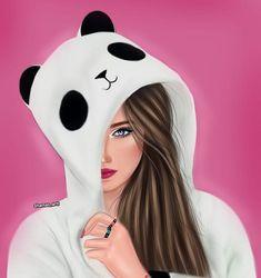 Photo shared by - شـمَس هـادي 🌟. on December 2018 tagging and No hay ninguna descripción de la foto disponible. Cute Girl Drawing, Cartoon Girl Drawing, Girl Cartoon, Cartoon Art, Best Friend Drawings, Girly Drawings, Girly M, Sarra Art, Drawings Pinterest