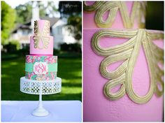 Will You Be My Bridesmaid | Lilly Pulitzer Styled Shoot | Lilly Pulitzer Cake | Sivan Photography | Orlando Wedding Photographer