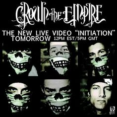 """Crown The Empire releases new live video """"Initiation"""" tomorrow!!!!!"""