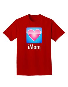 TooLoud iMom - Mothers Day Adult Dark T-Shirt