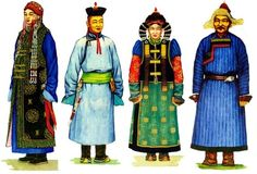mongolian clothing - Google Search