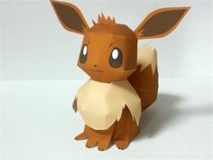 Eevee is a Normal-type Pokémon. Eevee is a mammalian, quadruped creature with primarily brown fur. The tip of its bushy tail and its large furry collar are cream-colored. It has short, slender legs with three small toes and a pink paw pad on each foot. Eevee has brown eyes, long pointed ears, and a small black nose. This Pokémon is rarely found in the wild, and is mostly only found in cities and towns. However, Eevee is said to have an irregularly shaped genetic structure that allows it to…