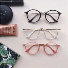 13c877d9ddd3 Round clear aesthetic glasses
