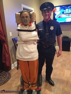 Hannibal Lecter and Cop Couple Costume