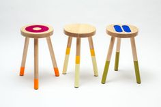 Holy Stools / Limited run for Gallery S. Bensimon, Paris, September 2014