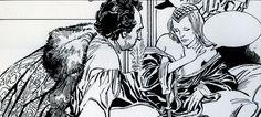 Feito, Eduardo - original page - Heptameron - (1974) - W.B.