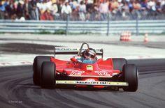 Gilles Villeneuve, Ferrari 312T4, 1979