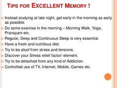 tips for a healthy memory  Visit us on goimprovememory.com  Via  google images  #memory #memorys #memorylane #memorybox #memoryfoam #memories #memoryloss #improvememory #memoryday #memoryhelp #memorybook