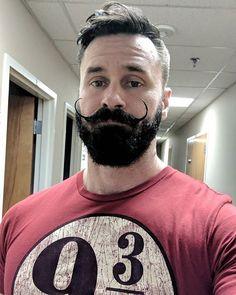 Handlebar Mustache, Moustache, Different Beard Styles, Hot Beards, Beard Model, Masculine Style, Awesome Beards, Gifts For Photographers, Beard Tattoo