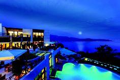 #LakeGarda #Italy Lefay Resort & Spa Lago di Garda - Luxury hotel overlooking the lake.