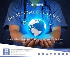 """Día Mundial de la Salud 2016:  """"Vence la Diabetes"""" Hoy 7 de abril se celebra de nuevo el Día Mundial de la Salud, día que conmemora la entrada en vigor de la Constitución de la OMS (Organización Mundial de la Salud), autoridad directiva y coordinadora en asuntos de sanidad internacional en el sistema de las Naciones Unidas, cuya filosofía es: 'La salud es un estado completo de bienestar físico, mental y social, y no solamente la ausencia de afecciones o enfermedades'."""
