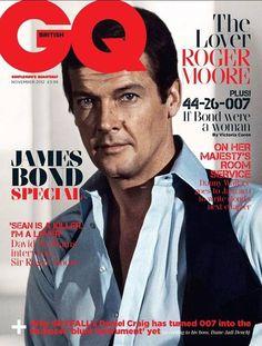 #Skyfall - GQ celebra i James Bond della storia - Roger Moore