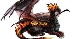 Epic magma dragon