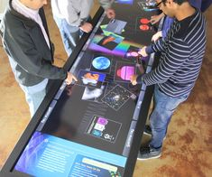 Interactive Touch Tables | DudeIWantThat.com