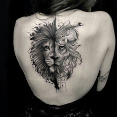 See more ideas about Tattoo ideas, Simple lion tattoo and Tattoo designs. Leo Tattoos, Animal Tattoos, Body Art Tattoos, Tatoos, Lion Head Tattoos, Mini Tattoos, Sleeve Tattoos, Lion Back Tattoo, Back Tattoo Women