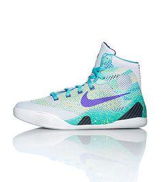NIKE Kobe Bryant Men\u0026#39;s high top sneaker Lace up closure Woven mesh detail Speckled midsole design