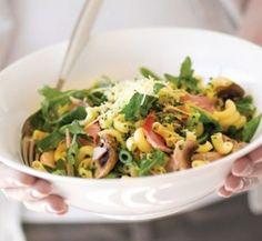 http://www.healthyfood.co.nz/recipes/2010/june/creamy-mushroom-and-bacon-macaroni