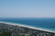 This beautiful view is from St. Arthur's Seat in Dromana on Mornington Peninsula, just an hour or so drive south from Melbourne #morningtongpeninsuka #victoria #australia #view Klaus and Fritz | http://klausandfritz.com/a-day-trip-to-dromana/