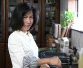 Norie Mori..Japanese chef living in the Nagoya-area.  Would love to attend her cooking classes when I next visit Japan.