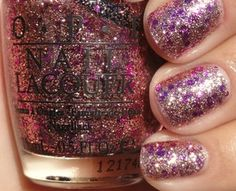 OPI, You Glitter Be Good To Me.