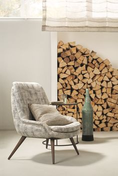 Erosion is our new furniture fabric inspired by natural surfaces. New Furniture, Firewood, Branding Design, Texture, Apartments, Fabric, Crafts, Inspiration, Inspired