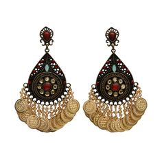 Coin Earrings by Ana Pamplona Acessorios