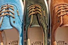Vans California suedes pack 2013