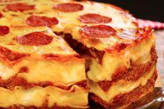 A PIZZA MAIS FÁCIL DO MUNDO!!! (veja a receita passo a passo)   RECEITAS DIVINAS